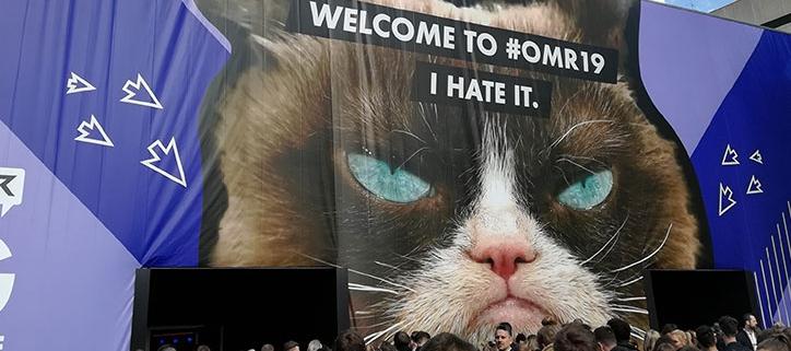 Grumpy Cat @ OMR 2019