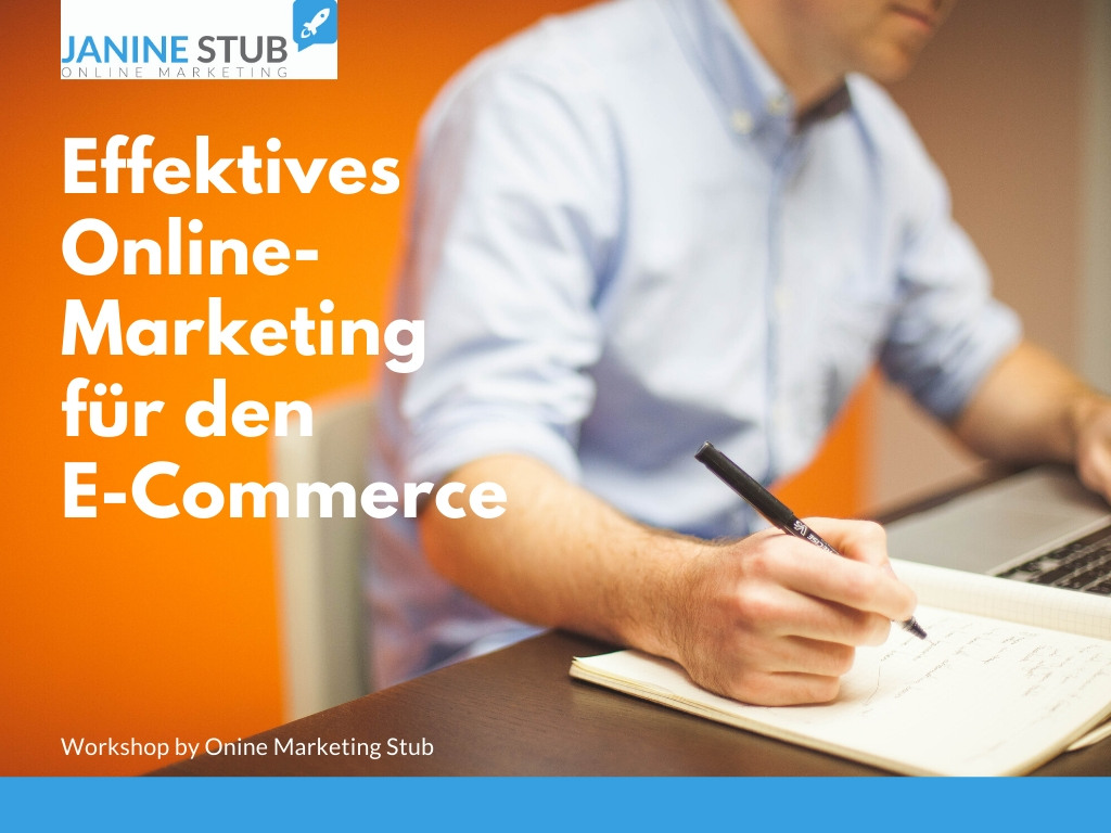 E-Commerce Weiterbildung: Workshop von Online Marketing Stub